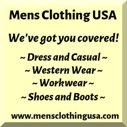 men's dress and casual clothing